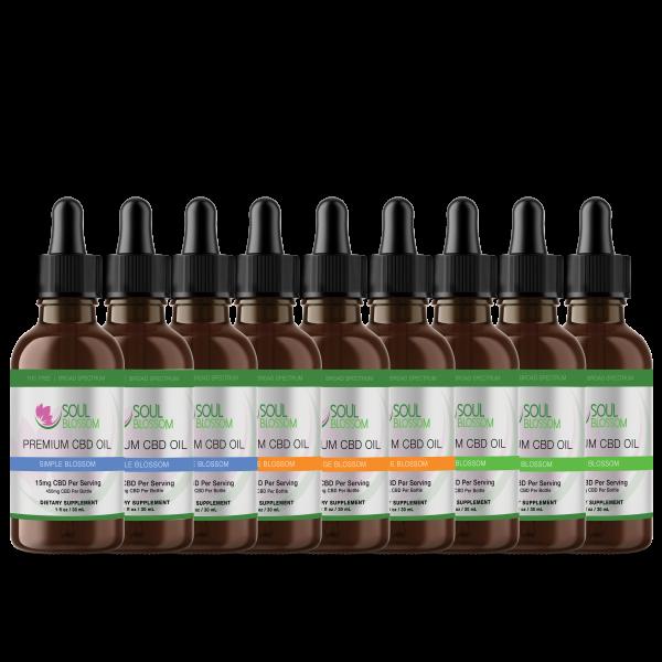 Soul Blossom tincture product line June 2020