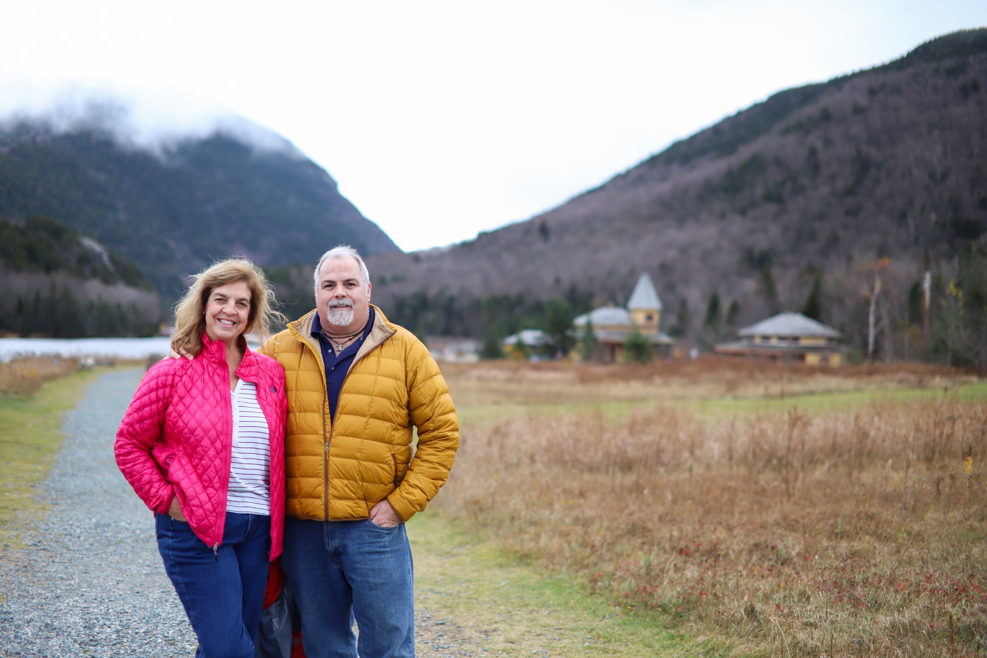 Katie and Tim in New Hampshire 2019