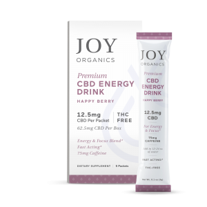 CBD Energy Drink box and stick pack